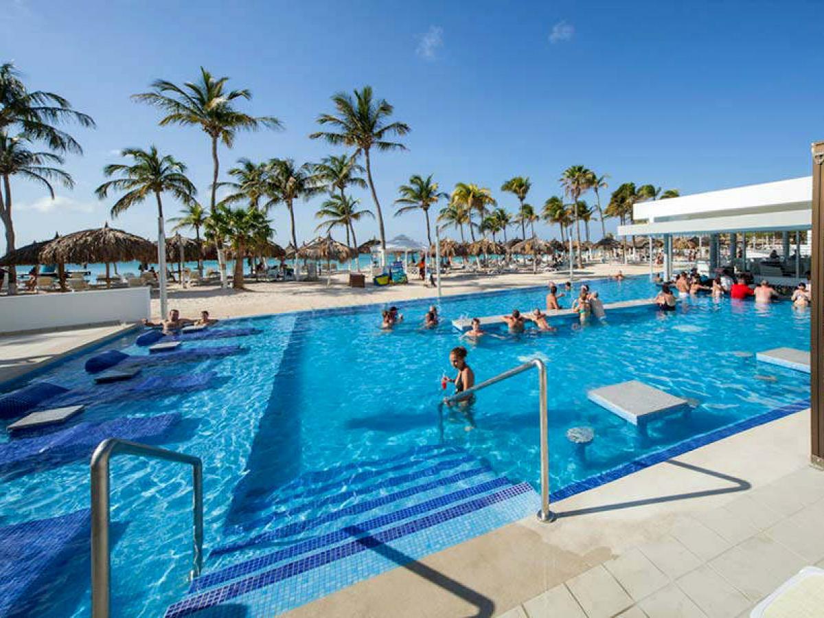 Riu Palace Antilles Aruba - Swimming Pool