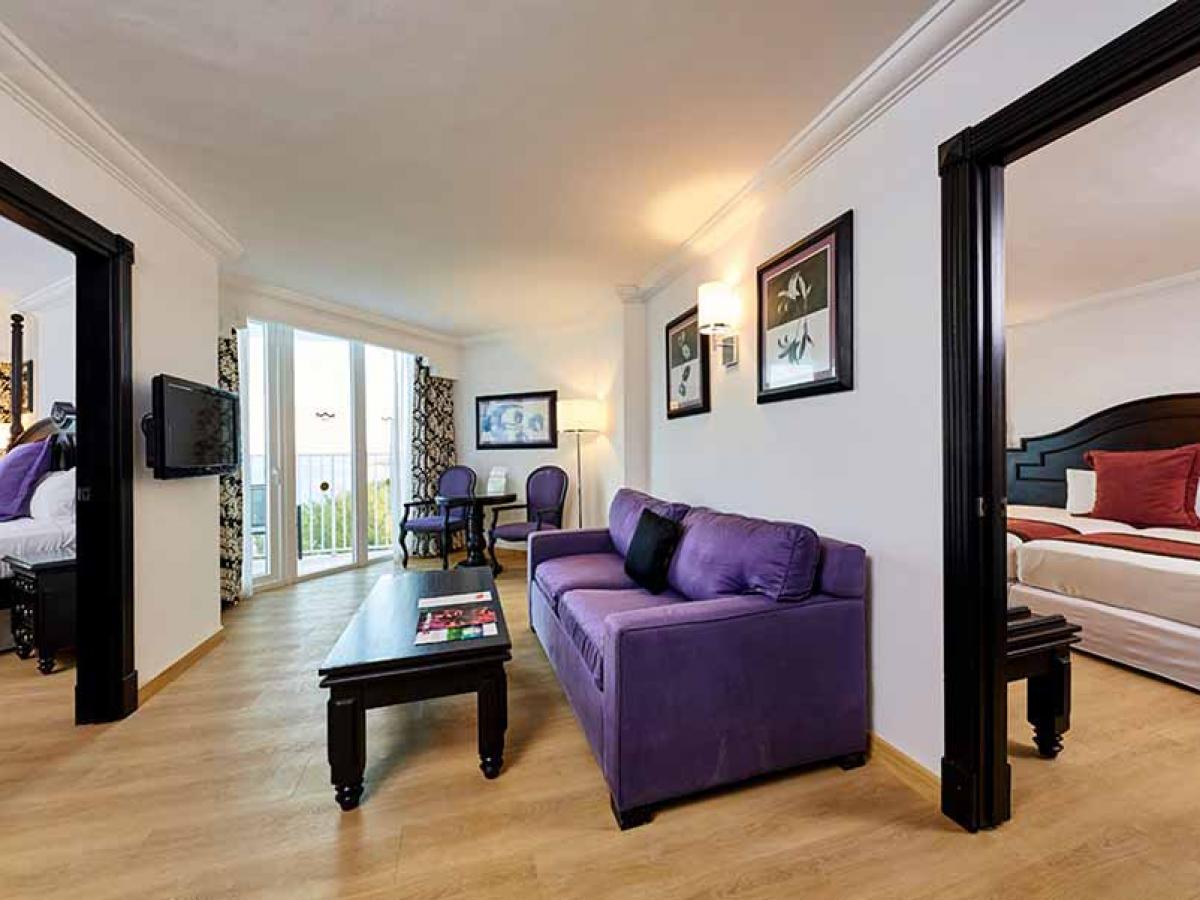Riu Palace Paradise Island Family Suite Ocean View