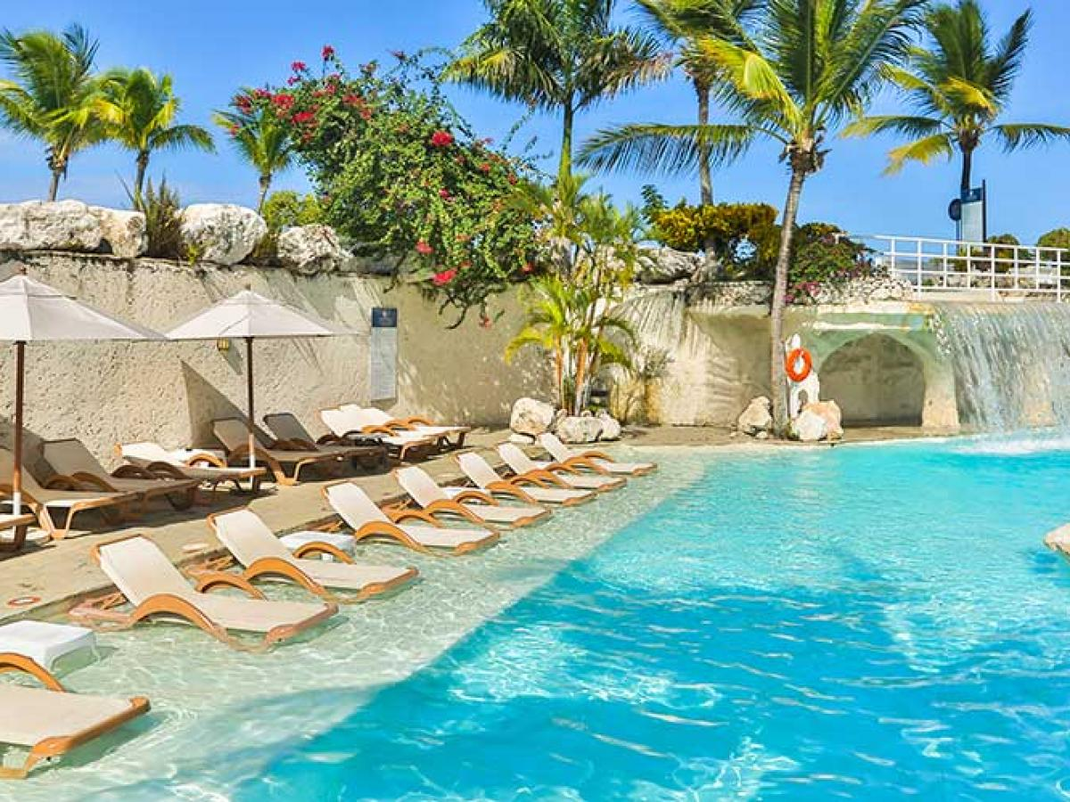 Cofresi Palm Beach Spa Resort Puerto Plata Dominican Republic Swimming Pools