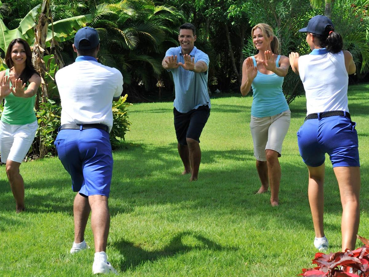 Grand Bahia Principe San Juan Puerto Plata Dominican Republic - Fitness Class