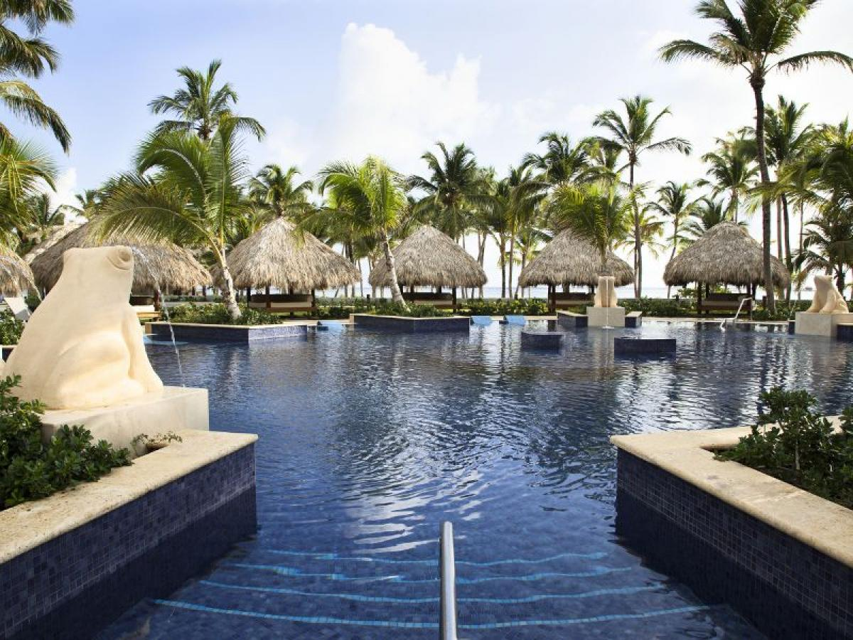 Barcelo Bavaro  Palace Deluxe Punta Cana - Swimming Pools and Wa