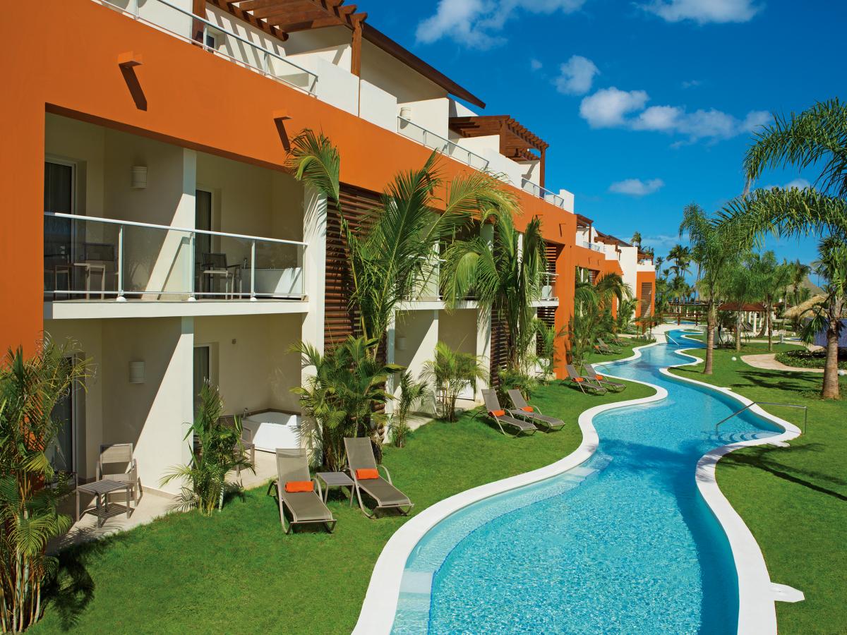 Punta Cana Breathless ALLURE JUNIOR SUITE Swim Up