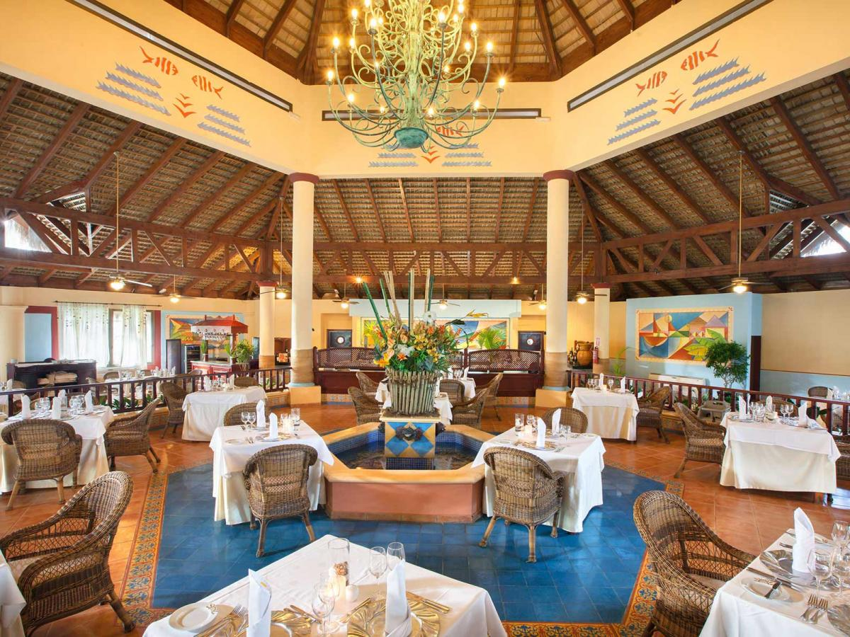 Grand Bahia Principe Turquesa Punta Cana -BBQ Restaurant in the