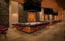 Hyatt Ziva Cap Cana Asian Restaurant Tepanyaki Tables