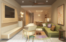 Hyatt Ziva Cap Cana Master Suite Living Area