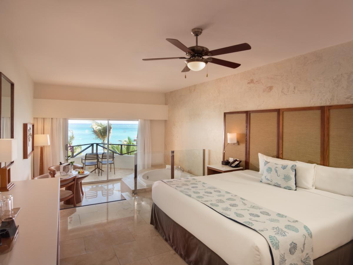 Impressive Resorts and Spas ocean front jacuzzi