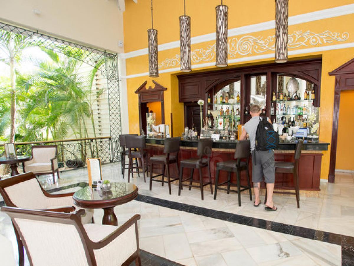 Luxury Bahia Principe Esmeralda Punta Cana Dominican Republic - Lobby Bar