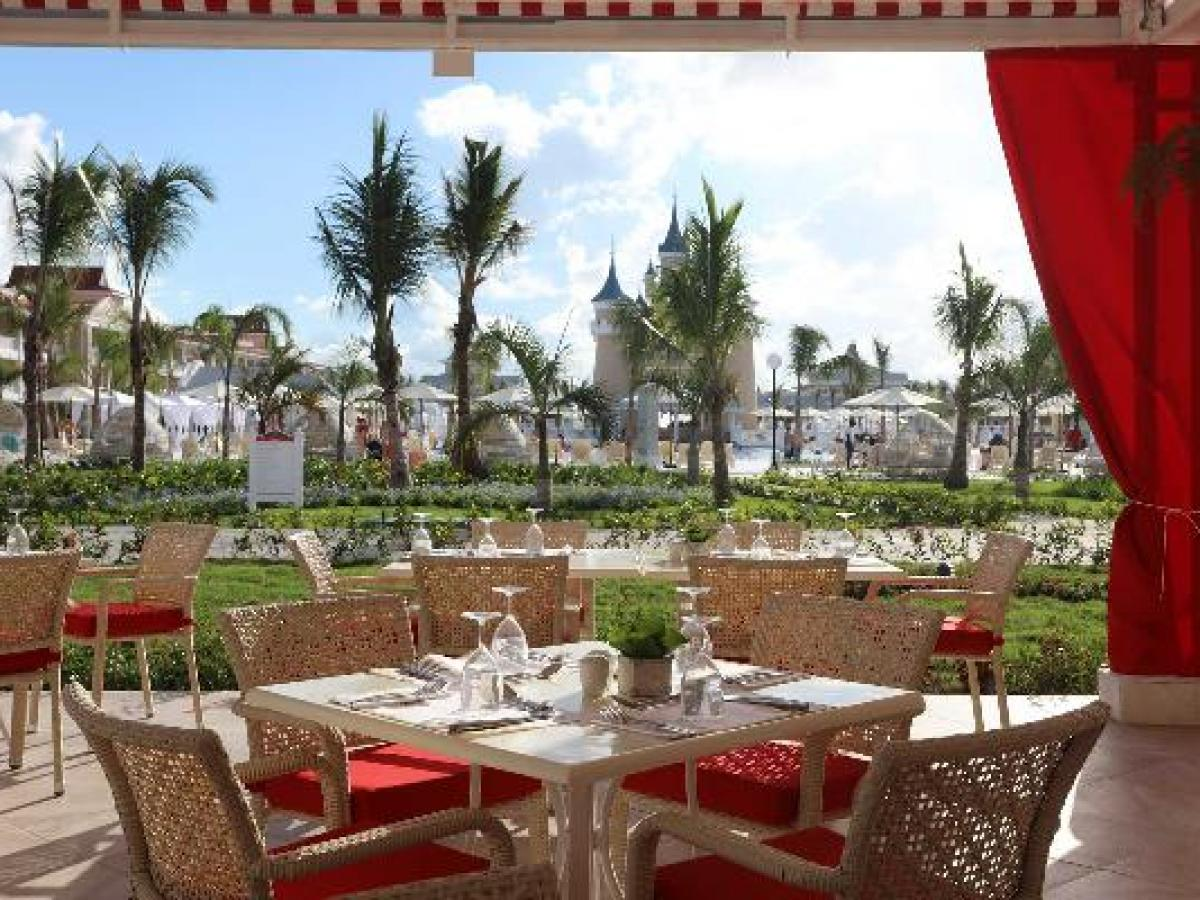 Luxury Bahia Principe Fantasia Punta Cana Dominican Republic - Pool Restaurant