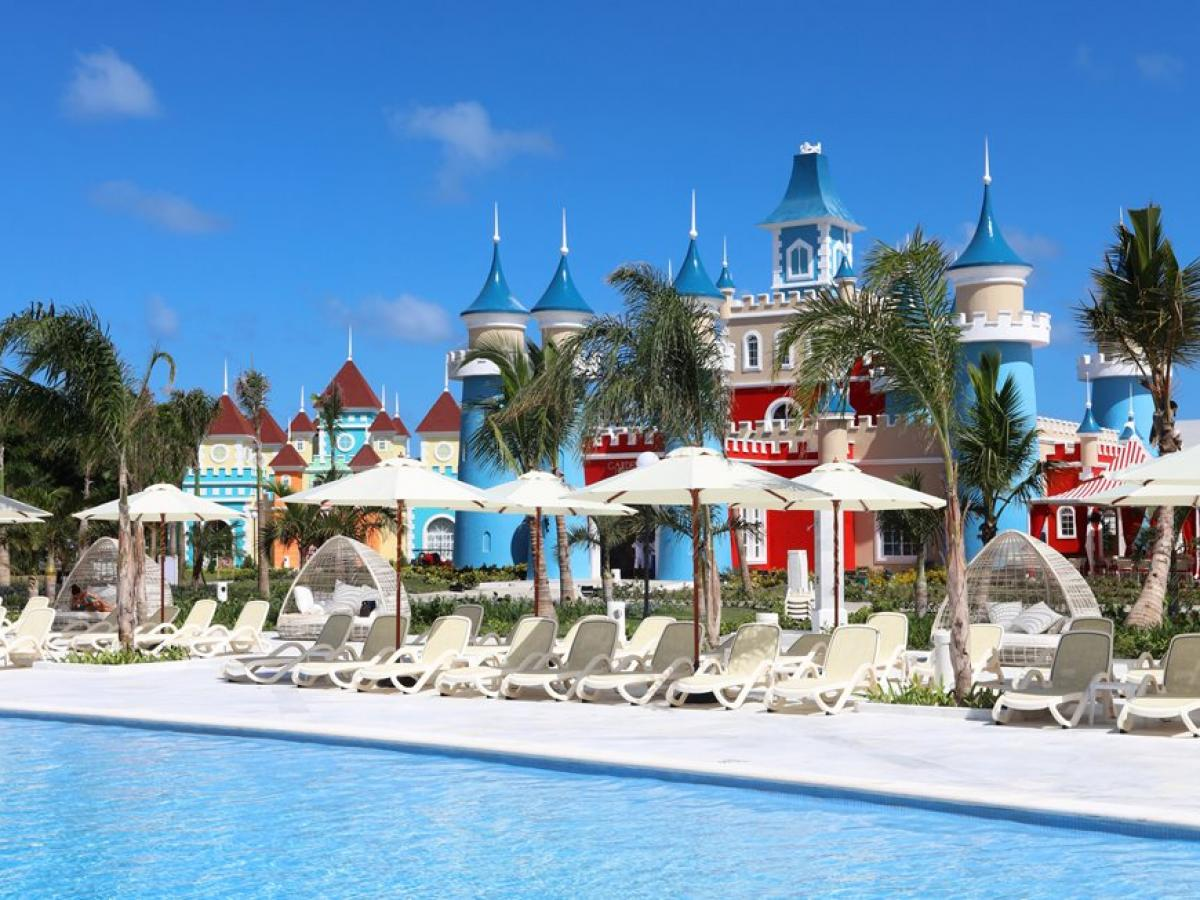 Luxury Bahia Principe Fantasia Punta Cana Dominican Republic - Swimming Pools