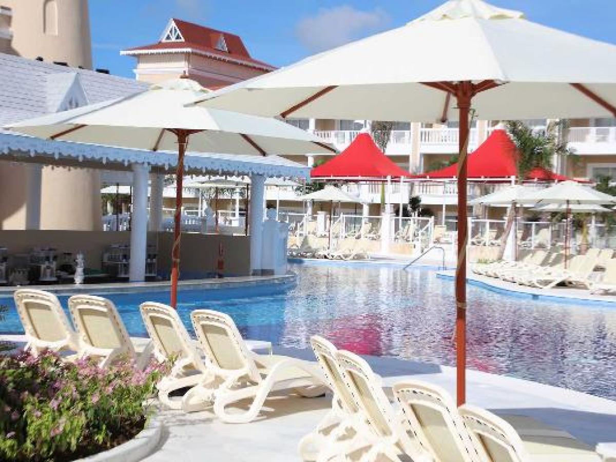 Luxury Bahia Principe Fantasia Punta Cana Dominican Republic - Poolside Bar