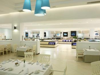 Luxury Bahia Principe Fantasia Punta Cana Dominican Republic - Buffet Restaurant