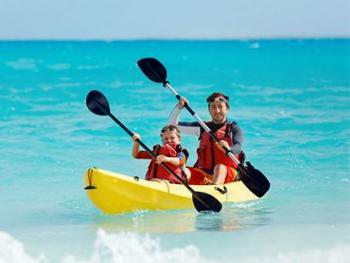 Luxury Bahia Principe Fantasia Punta Cana Dominican Republic - Kayaking