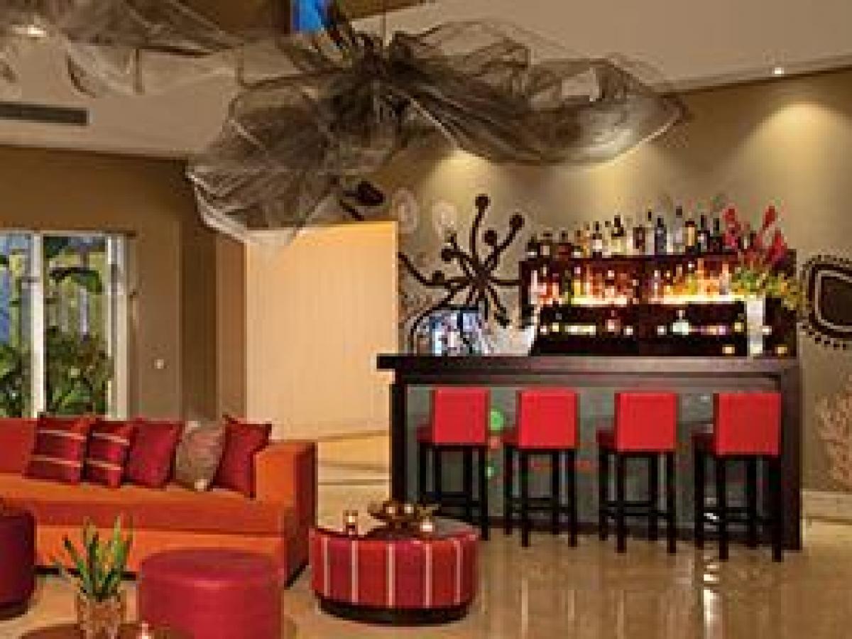 NOW Garden Punta Cana Dominican Republic - Lobby Bar