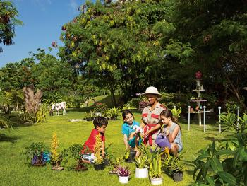 NOW Garden Punta Cana Dominican Republic - Botanical Garden