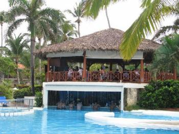 Natura Park Beach Eco-Resort & Spa Punta Cana Dominican Republic - Swim Up Bar