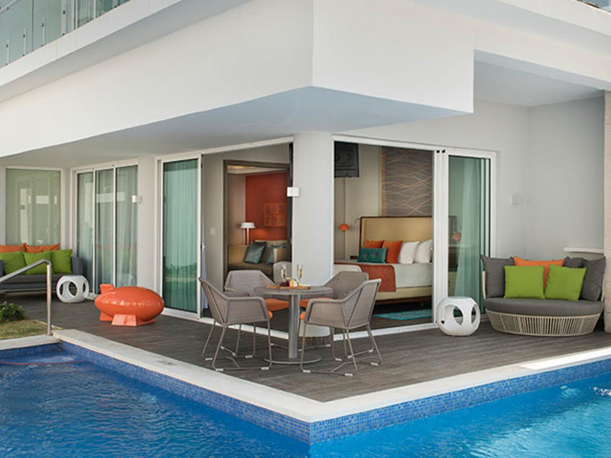 Nickelodeon Punta Cana Dominican Republic - Swank Wraparound Swim Up Suite