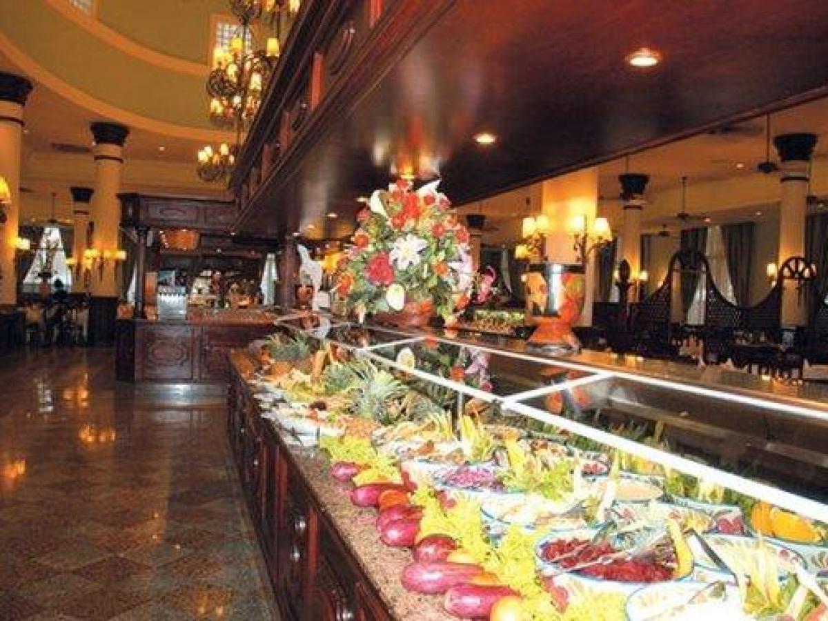 Riu Bambu Punta Cana Dominican Republic - Buffet Restaurant
