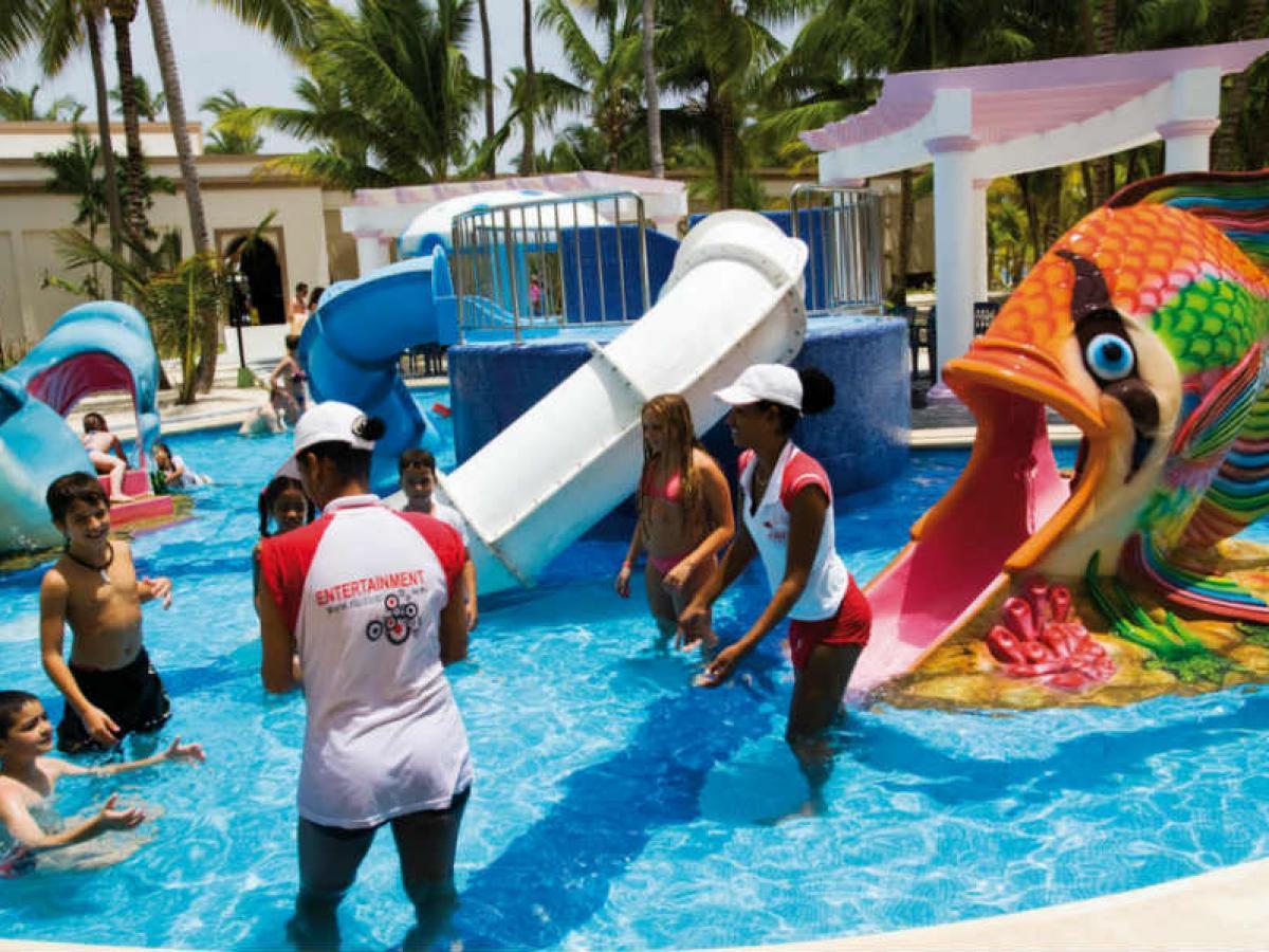 Riu Bambu Punta Cana Dominican Republic - Children's Pool
