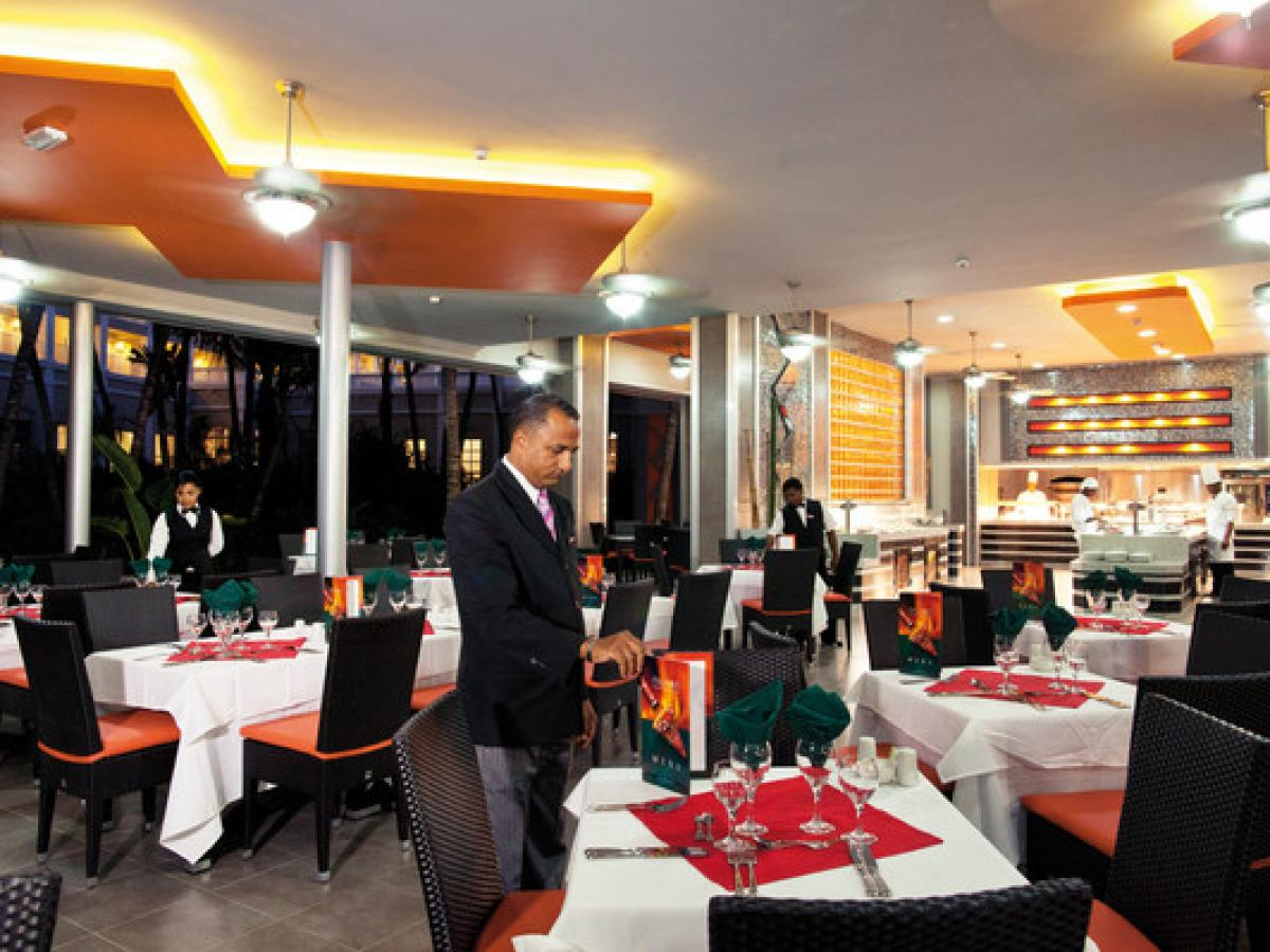 Riu Naiboa Punta Cana Dominican Republic - Panama Restaurant