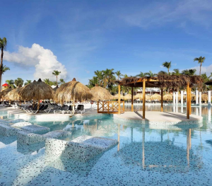 Palladium Punta Cana Turquesa Pool Loungers