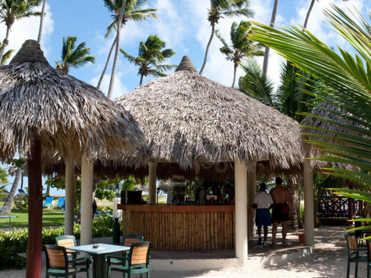 Luxury Bahia Principe Samana Dominican Republic - Beach Bar