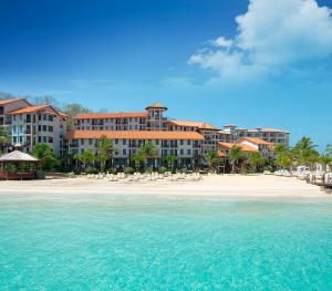 Sandals Lasource Grenada - Pink Gin Building