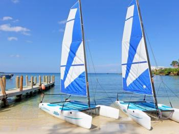 Grand Palladium Jamaica resort and spa - sailboats