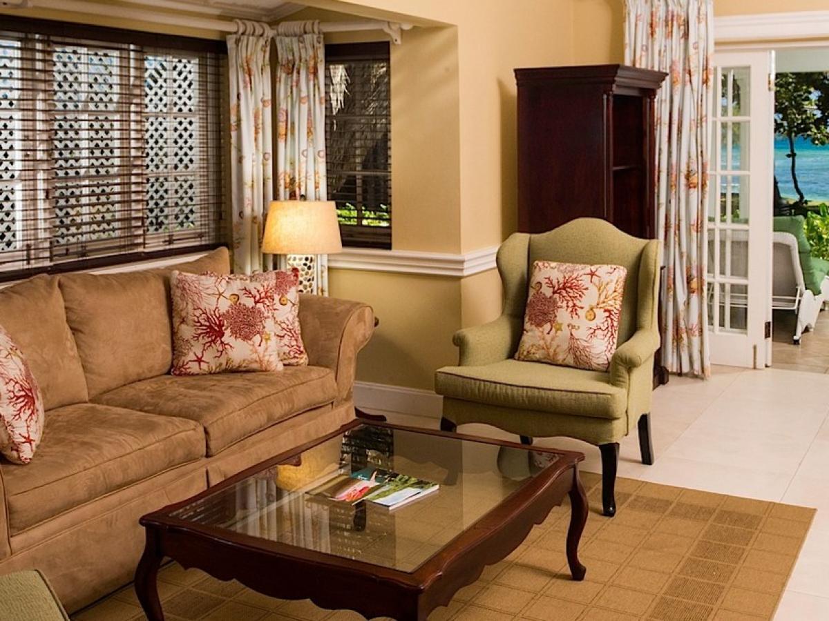Half Moon a RockResort in Jamaica  - Royal Suite Living Room