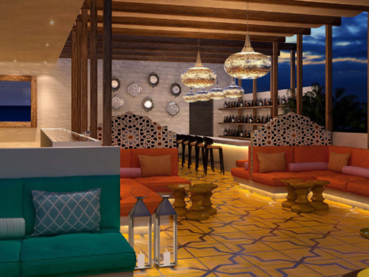 Hyatt Zilara Rose Hall Montego Bay Jamaica - Fez Rooftop Bar