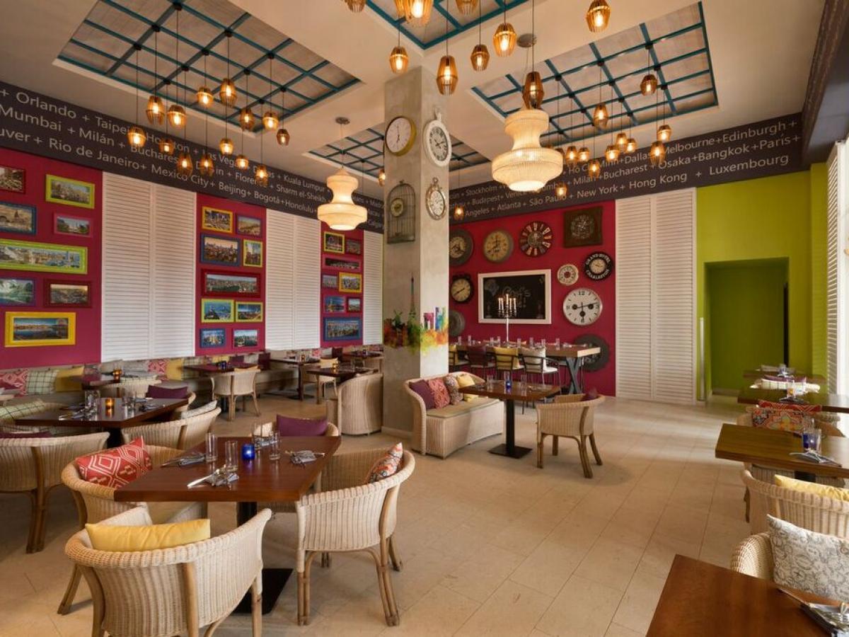 Hyatt Zilara Rose Hall Jamaica - Flavorz Buffet.
