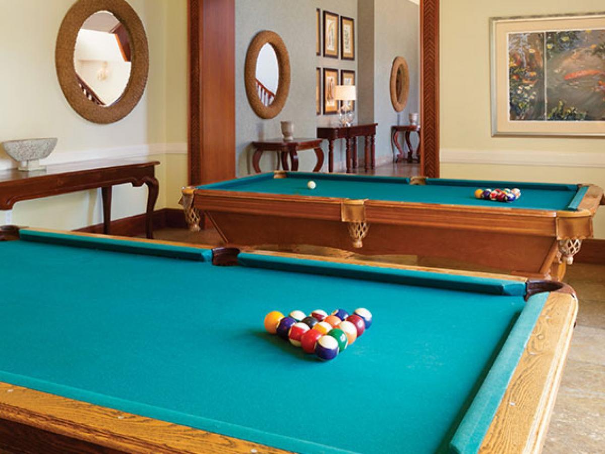 Hyatt ZIva Rose Hall Montego Bay Jamaica - Pool Table
