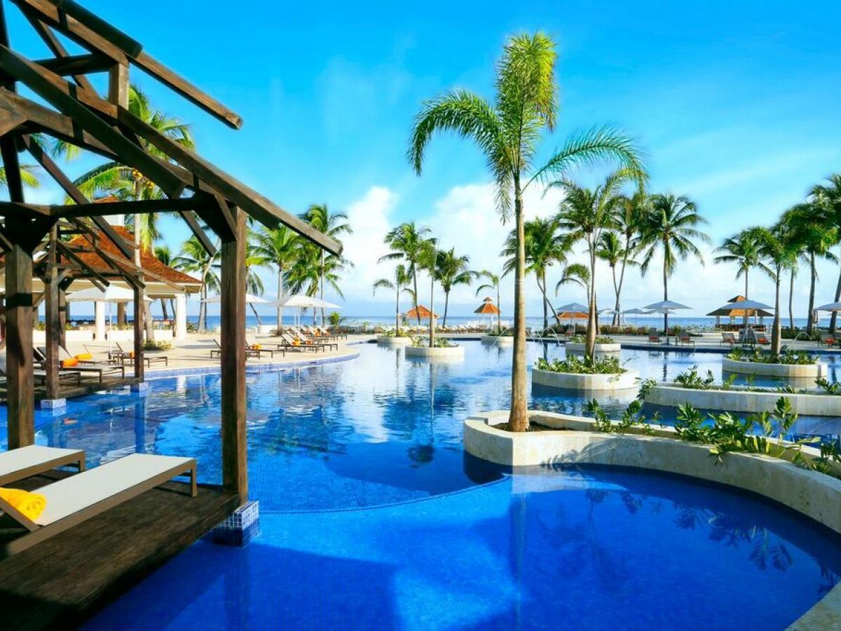 Hyatt ZIva Rose Hall Montego Bay Jamaica - Swimming Pools