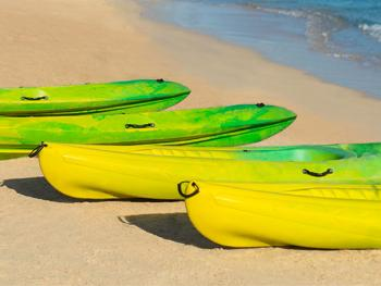 Hyatt ZIva Rose Hall Montego Bay Jamaica - Kayaks