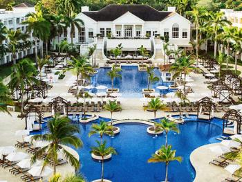 Hyatt Ziva Rose Hall  Montego Bay Jamaica - Swimming Pool