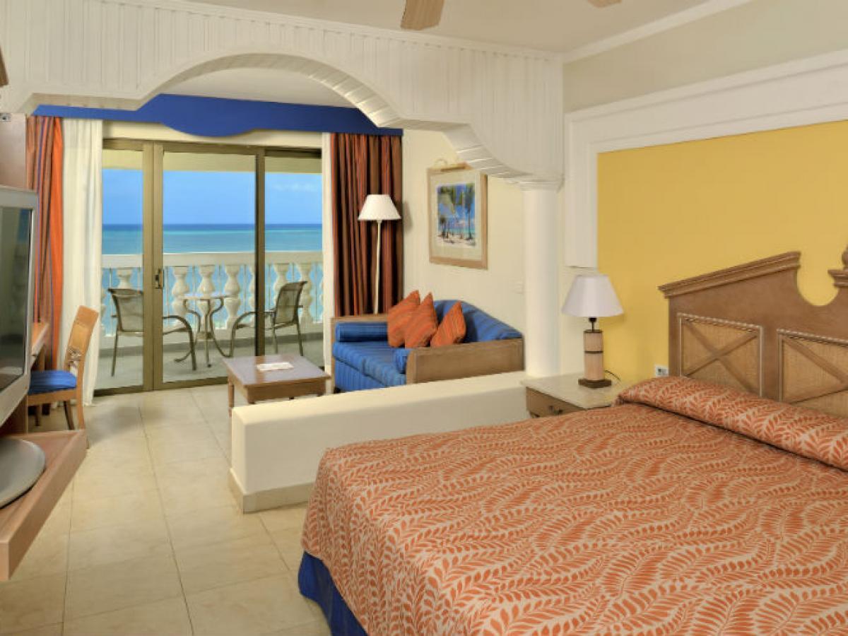 Iberostar Rose Hall Suites Montego Bay Jamaica - Ocean Front  Junior Suite