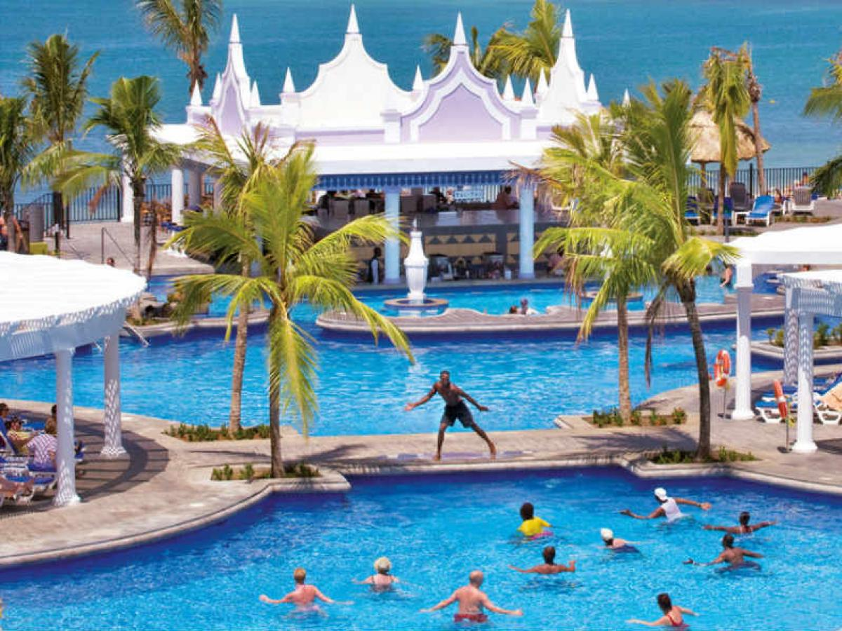 Riu Montego Bay Jamaica - Swim Up Bar