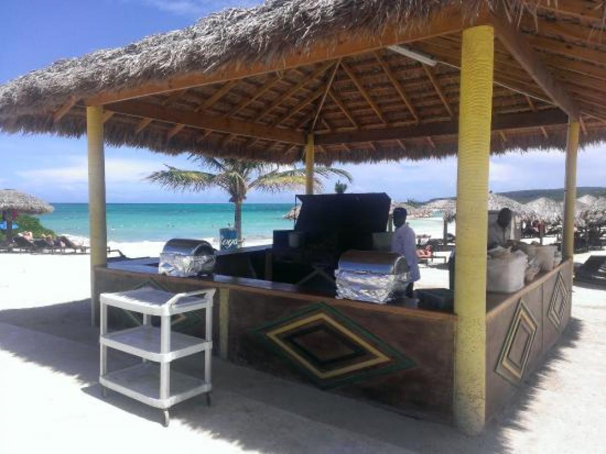 Royalton Blue Waters Montego Jamaica - Jerk Hut Jamaican Snacks