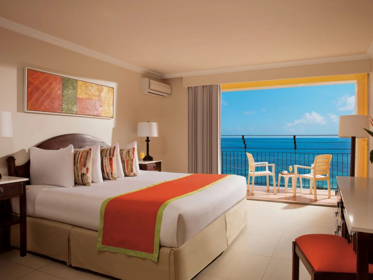 Sunset Beach Jamaica Deluxe Oceanfront King