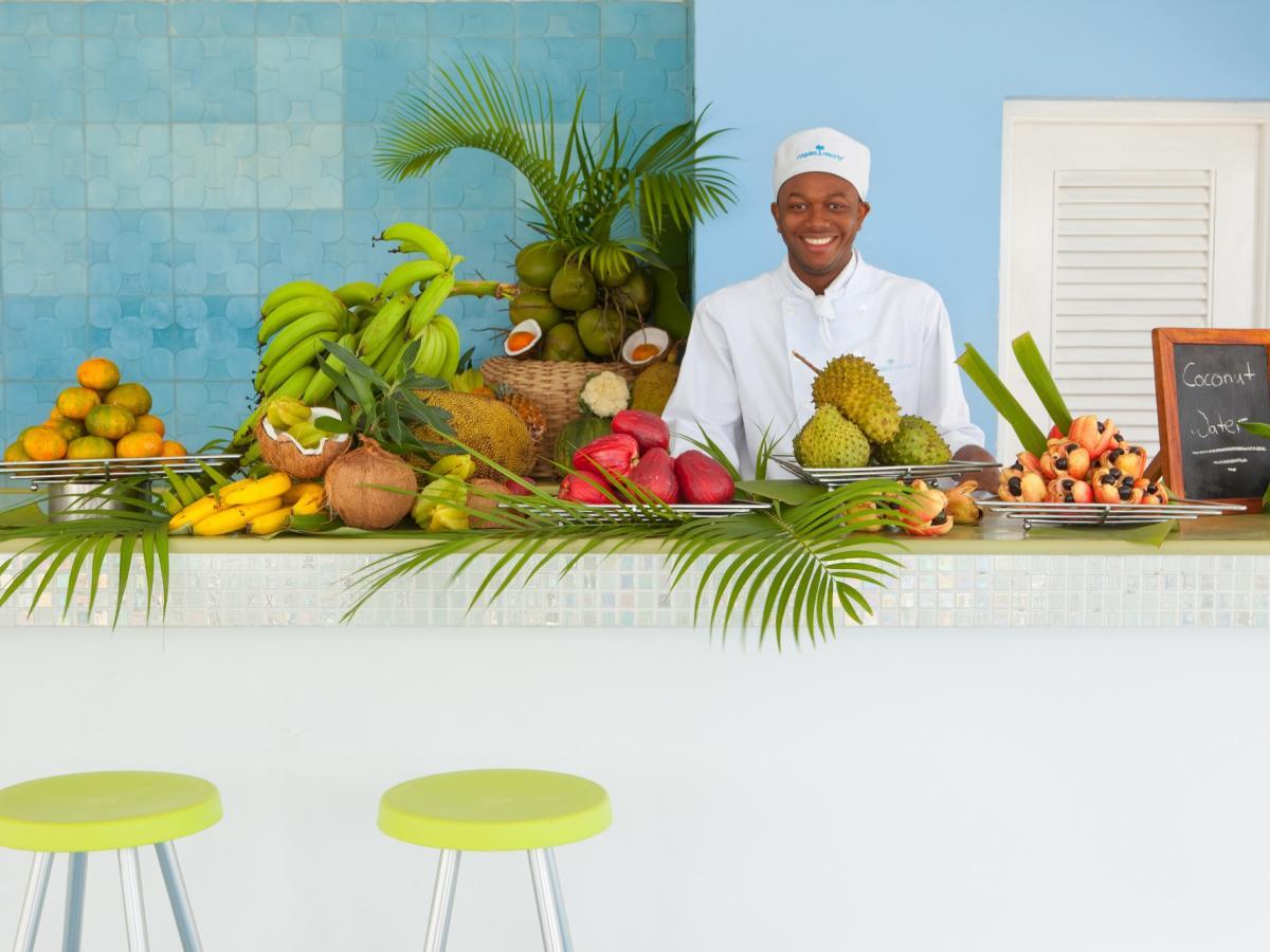 Couples Negril Jamaica -Fruit and Veggie Bar