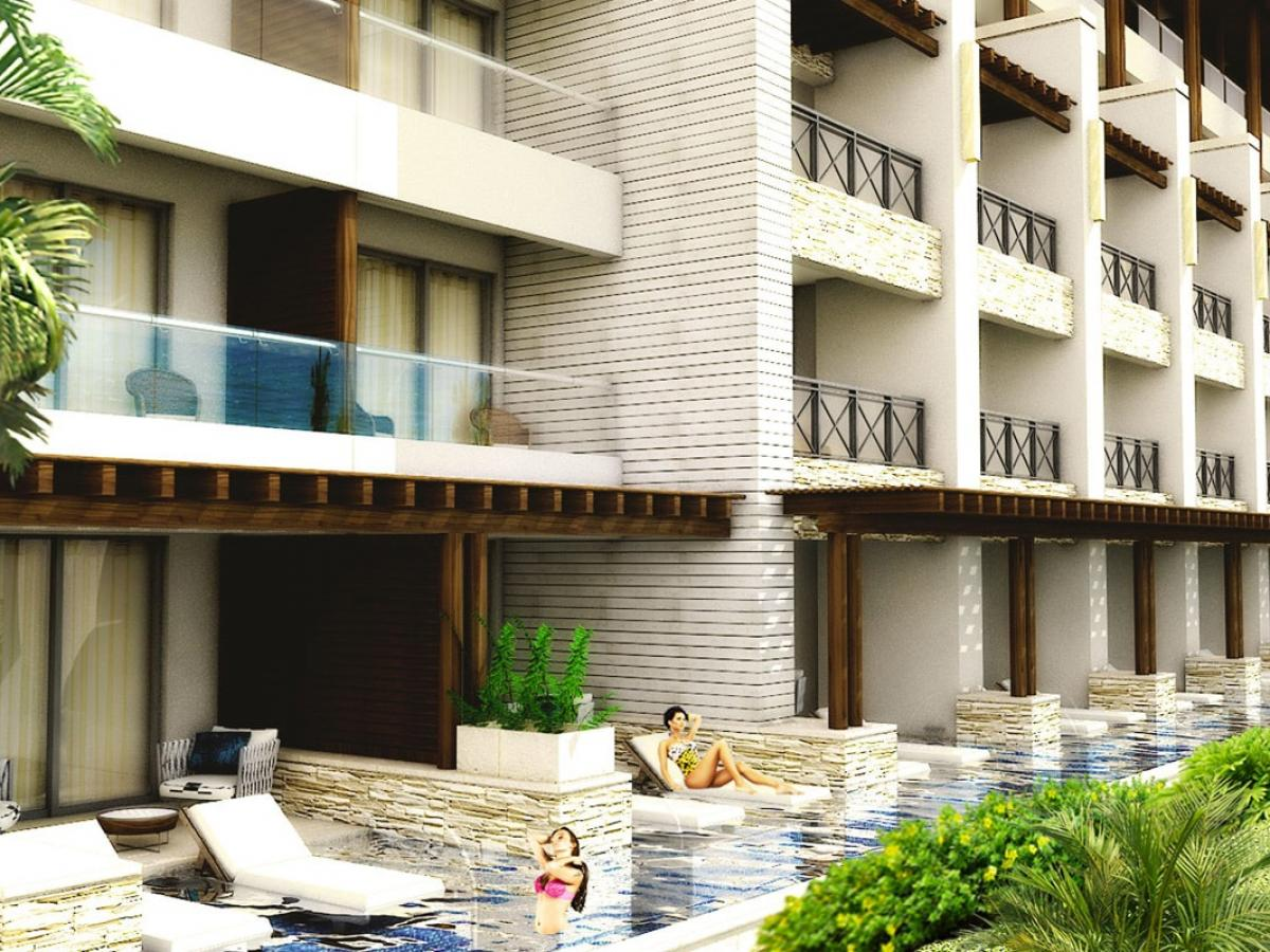 Hidaway at Royalton Negril Jamaica - Luxury Junior Suite Swim Ou