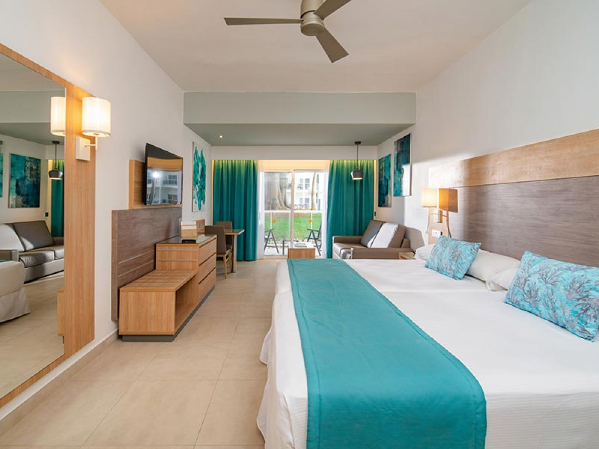 Riu Palace Tropical Bay Jr Suite Garden view