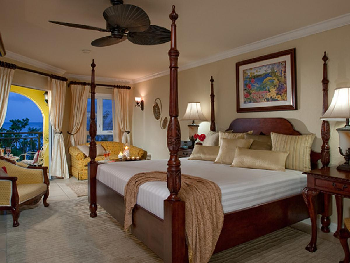 Sandals Whitehouse Negril Jamaica - Beachfront Luxury Room