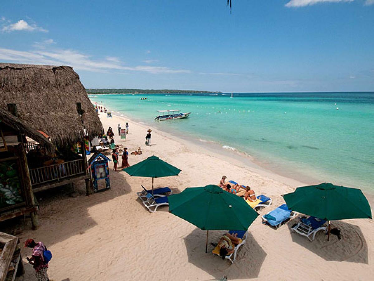 Sea Spash Resort Negril Jamaica - Beach