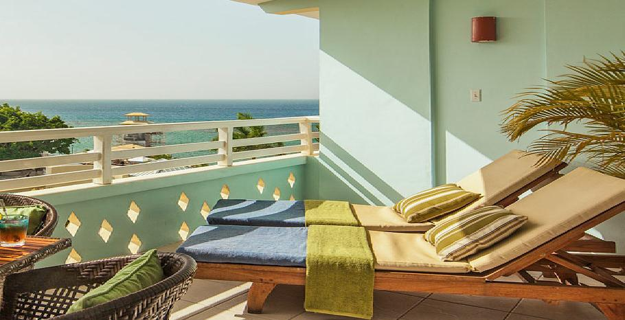 Caribbean Honeymoon Oceanview Concierge Veranda Suite Double - HOVD
