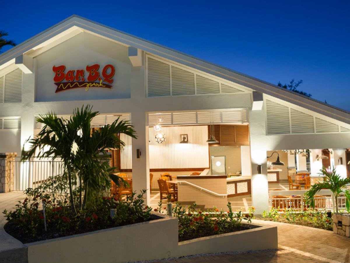 Beaches Ocho Rios Jamaica - BBQ Park