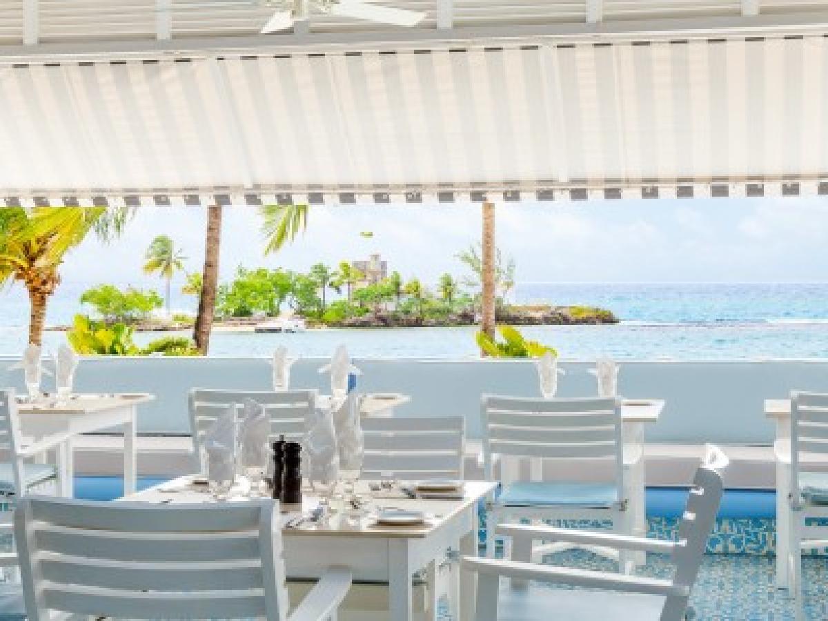 Couples Tower Isle Ocho Rios Jamaica - Main Bar at Patio Restaur