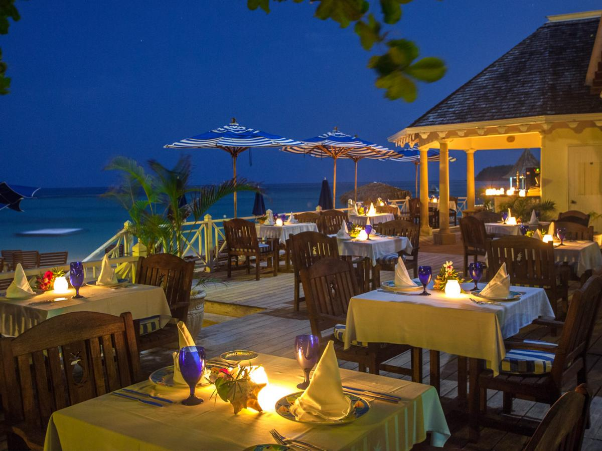 Sandals Royal Plantaion Ocho Rios Jamaica - Flambe