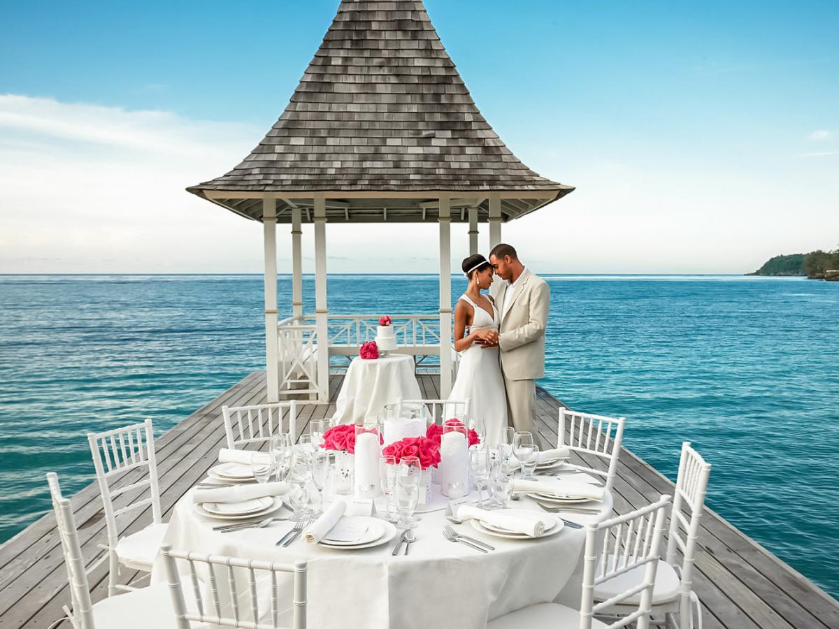 Sandals Royal Plantation  Ocho Rios Jamaica - Wedding