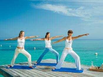 Sandals Royal Plantation Ocho Rios Jamaica - Yoga