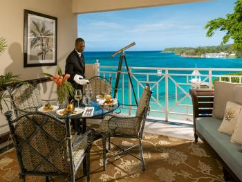 Sandals Royal Plantaion Ocho Rios Jamaica - In Room Dining